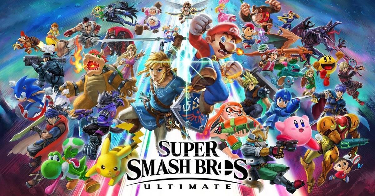 Super Smash Bros. es el juego más vendido de Switch en Japón desde el debut de la consola