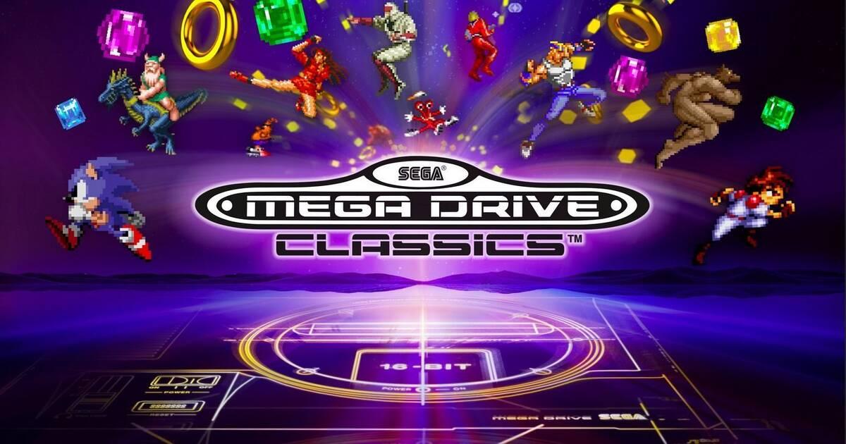 Mas De 50 Clasicos Reunidos En Sega Mega Drive Classics Para Ps4 Y