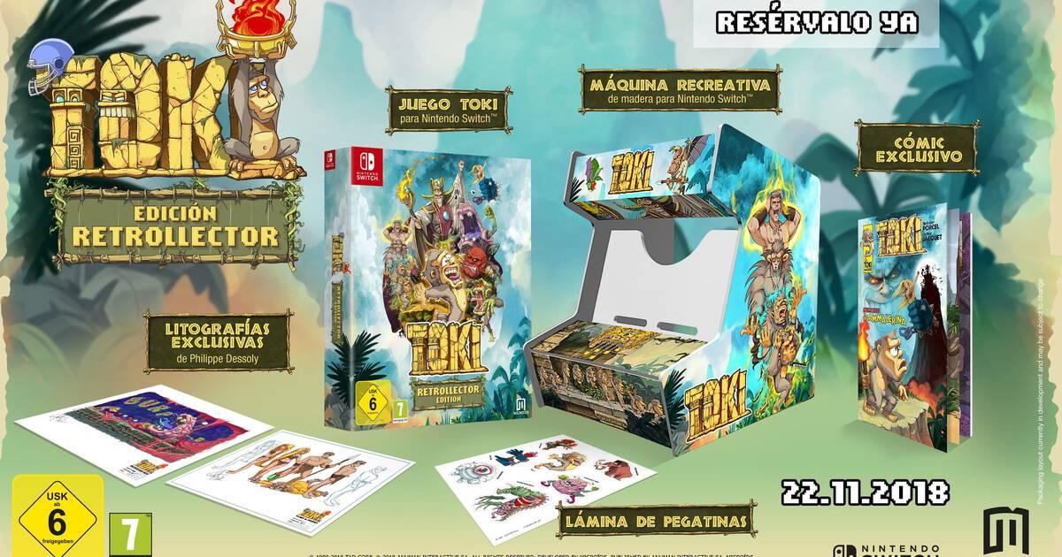 Toki Para Switch Muestra Su Edicion Coleccionista Y Estrena Trailer