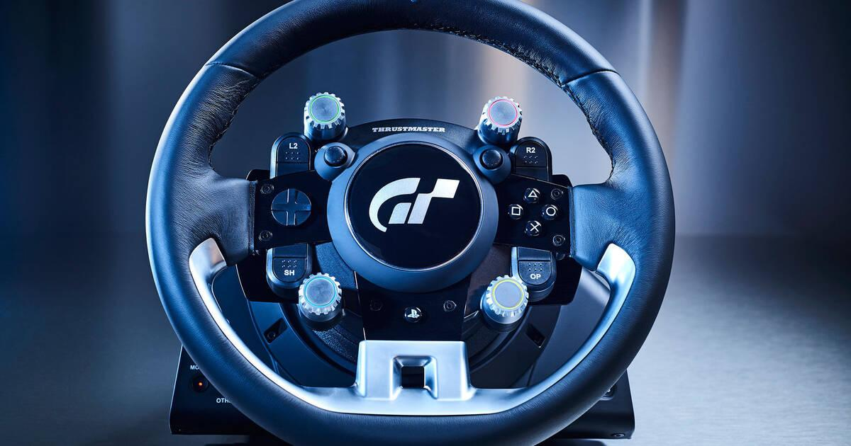 as es el nuevo volante de thrustmaster para gran turismo sport vandal. Black Bedroom Furniture Sets. Home Design Ideas