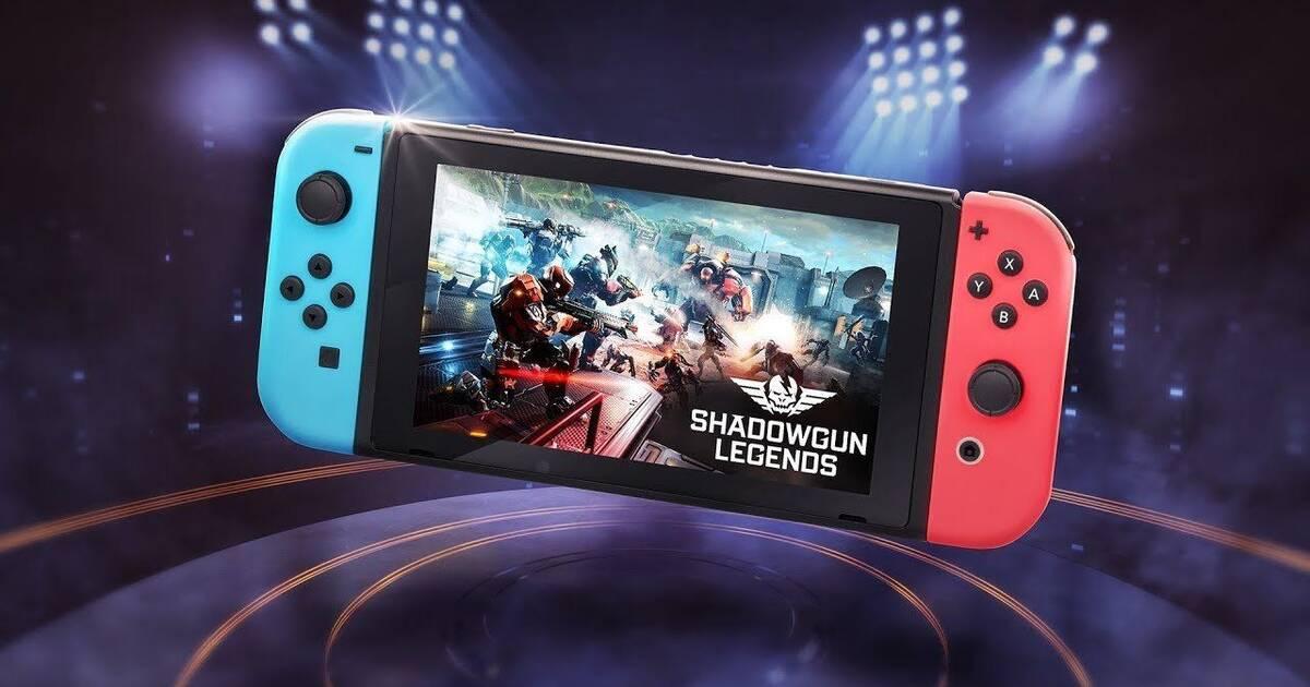 Resultado de imagen de portada Shadowgun Legends nintendo switch
