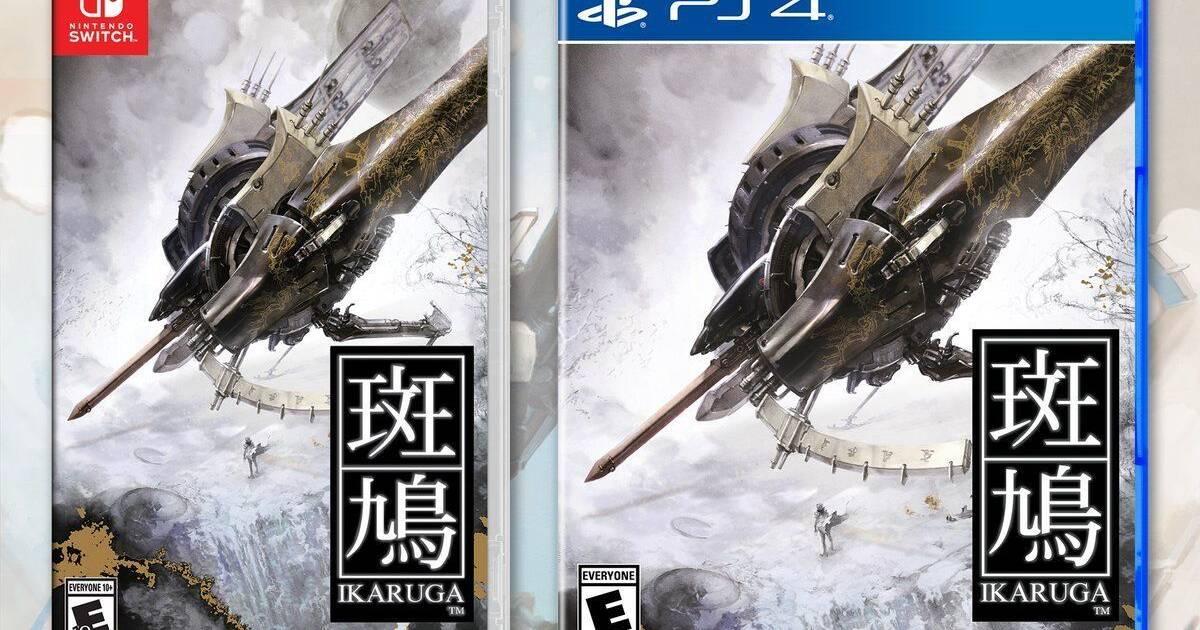 Ikaruga tendrá una edición física para PlayStation 4 y Nintendo Switch