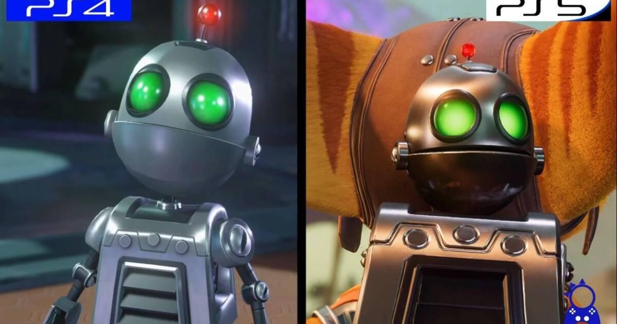 Comparan Ratchet And Clank Rift Apart Para Ps5 Con El Anterior