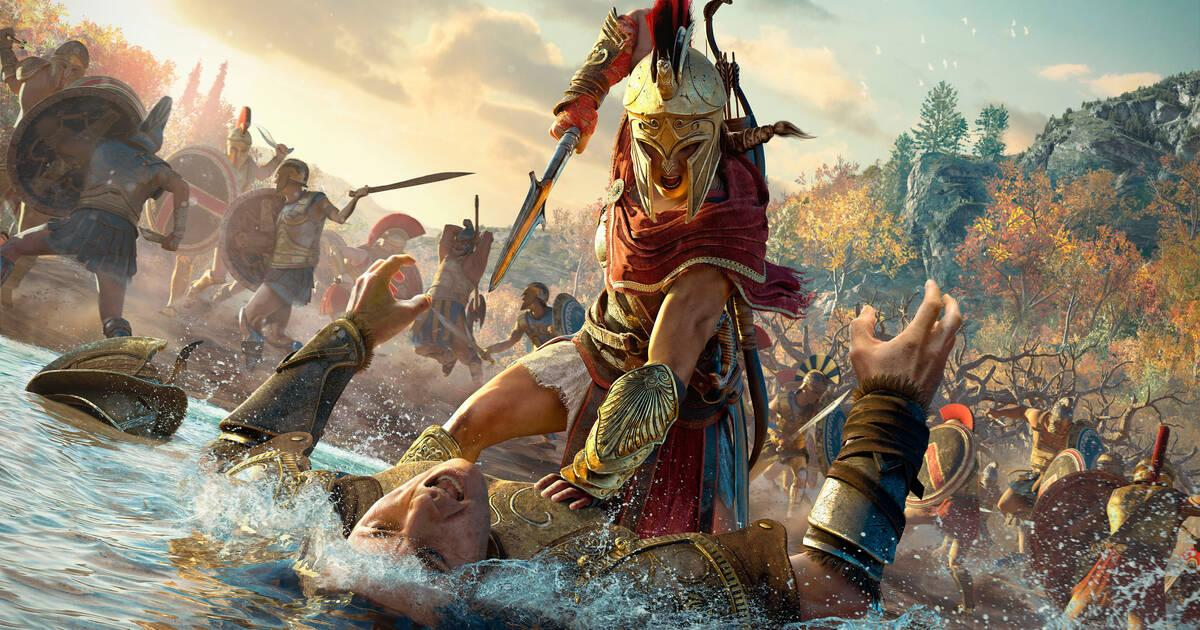 Assassin's Creed Odyssey muestra un extenso gameplay de 20 minutos en 4K