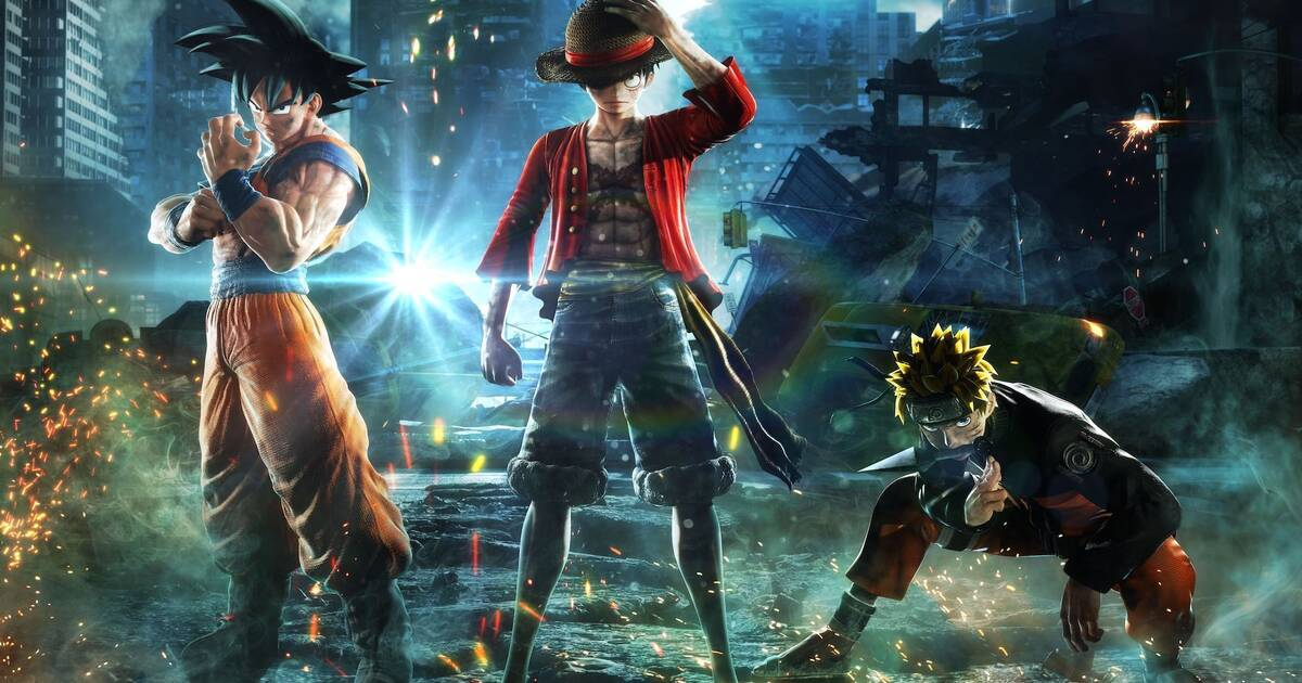 Goku, Naruto y Luffy acaban con Freezer en Jump Force