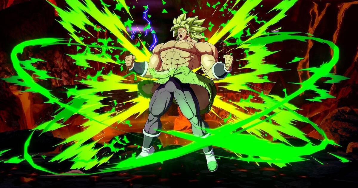 Dragon Ball FighterZ: Broly desata su poder en las nuevas imágenes