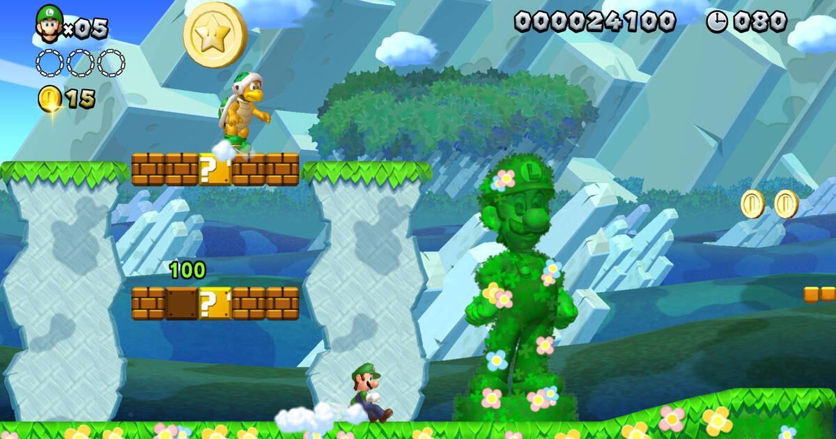 New Super Mario Bros U Deluxe Es El Mas Vendido De La Semana En