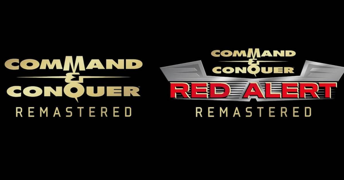 EA anuncia las remasterizaciones de Command Conquer y Red Alert