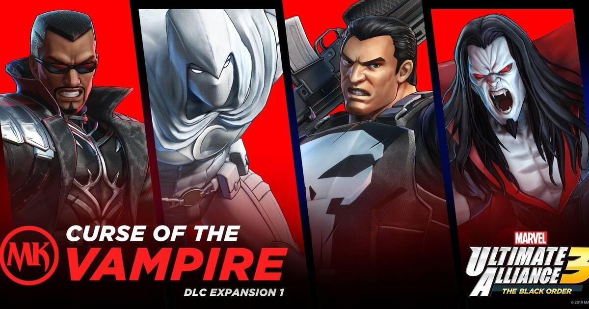 El primer DLC de Marvel Ultimate Alliance 3: The Black Order llega el 30 de septiembre