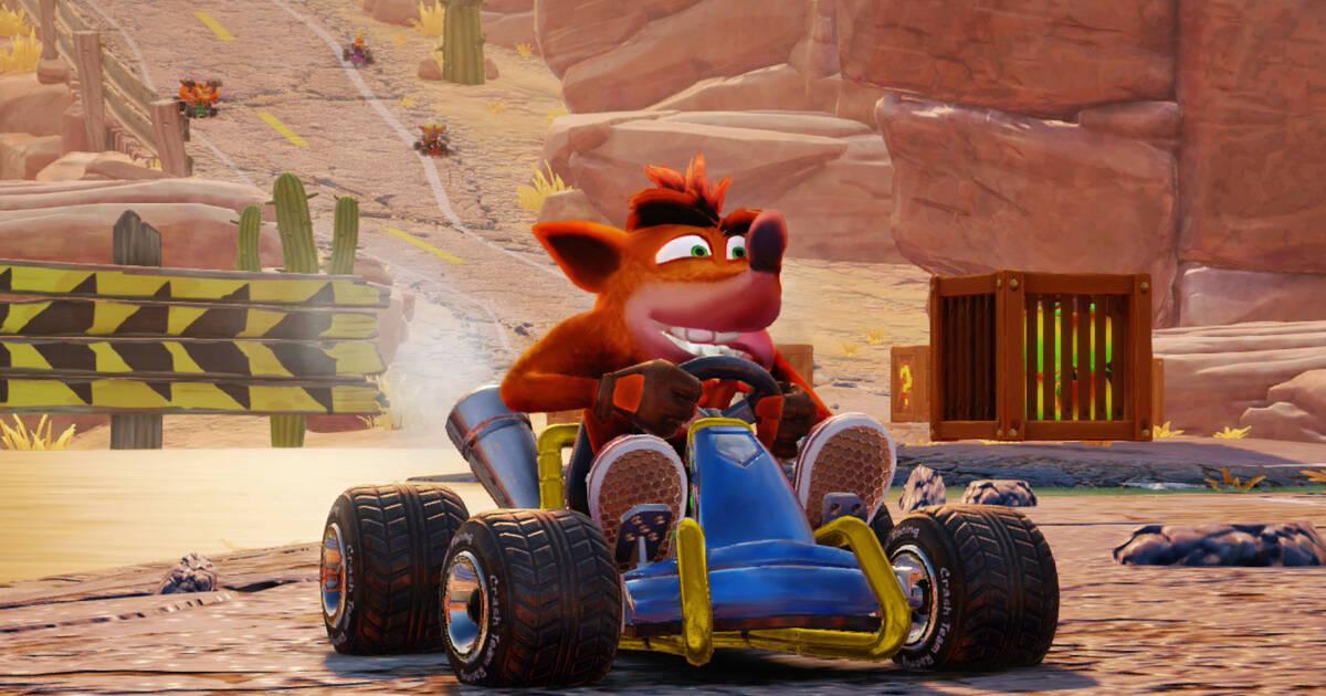 Crash Team Racing Nitro-Fueled luce asombroso en su nuevo avance