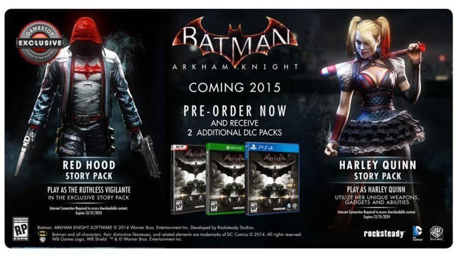 Batman: Arkham Knight tendrá un descargable protagonizado por Red Hood