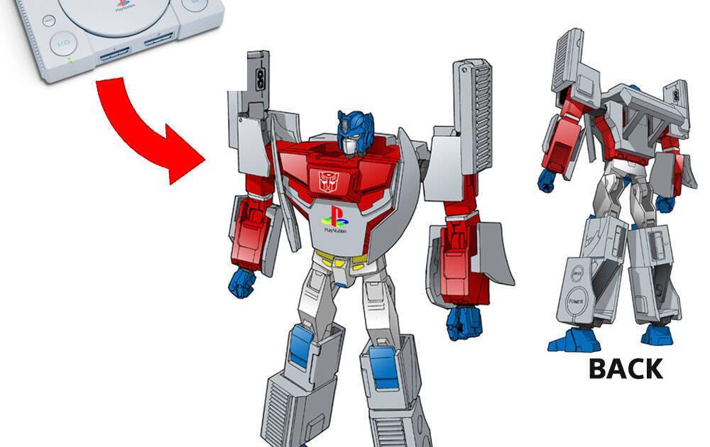 Preparan Transformers de la PlayStation original y Mega Drive