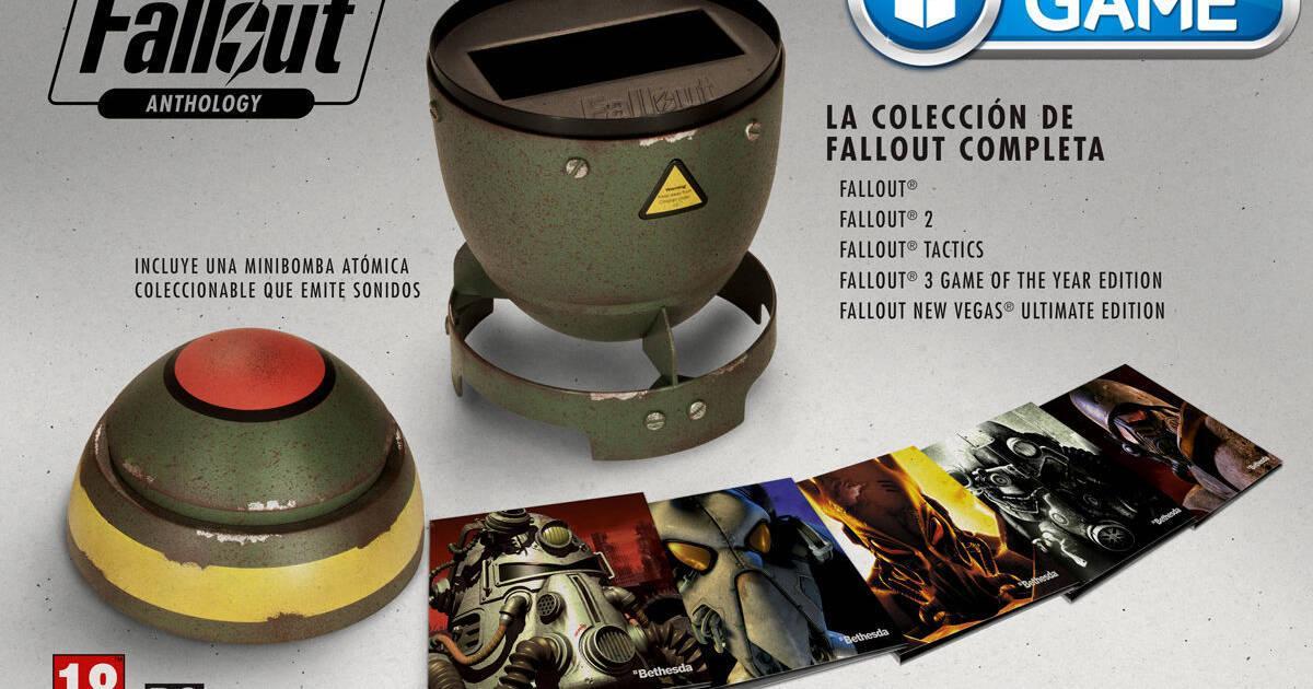 Fallout Anthology será exclusivo de GAME en España