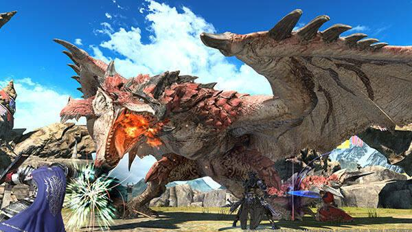La colaboración de Monster Hunter en Final Fantasy XIV comienza el 7 de agosto