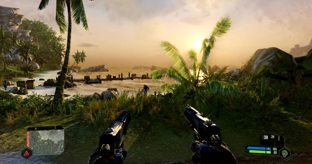 Crysis Remastered: Así se ve la versión de Nintendo Switch