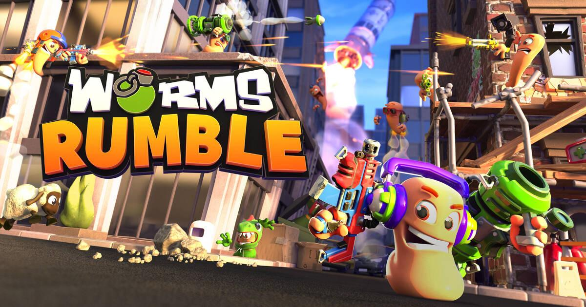 Anunciado Worms Rumble para PS5, PS4 y PC