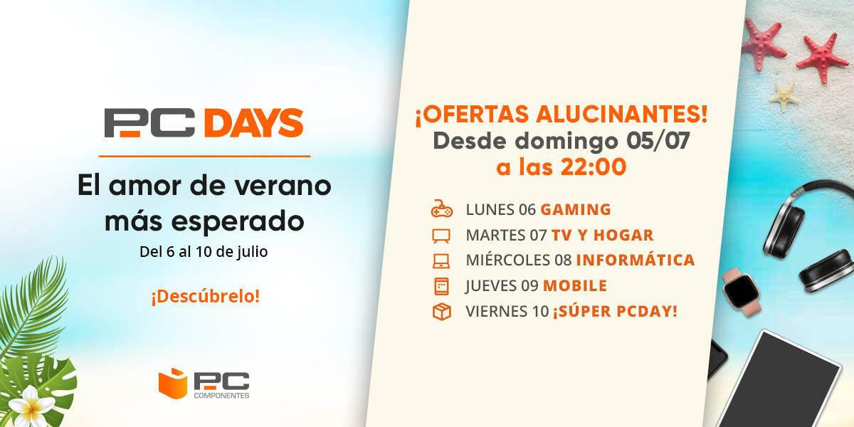 Estas son las ofertas de gaming de los PC Days de PcComponentes