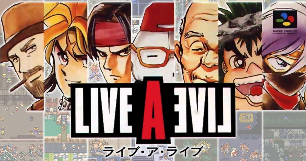 Square Enix registra en Australia Live A Live, nombre del RPG de Super Nintendo