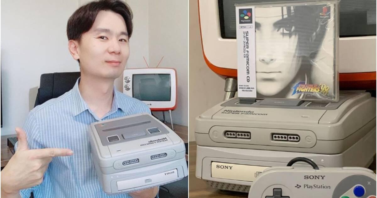 Un fan diseña su propia SNES fusionada con PlayStation 1