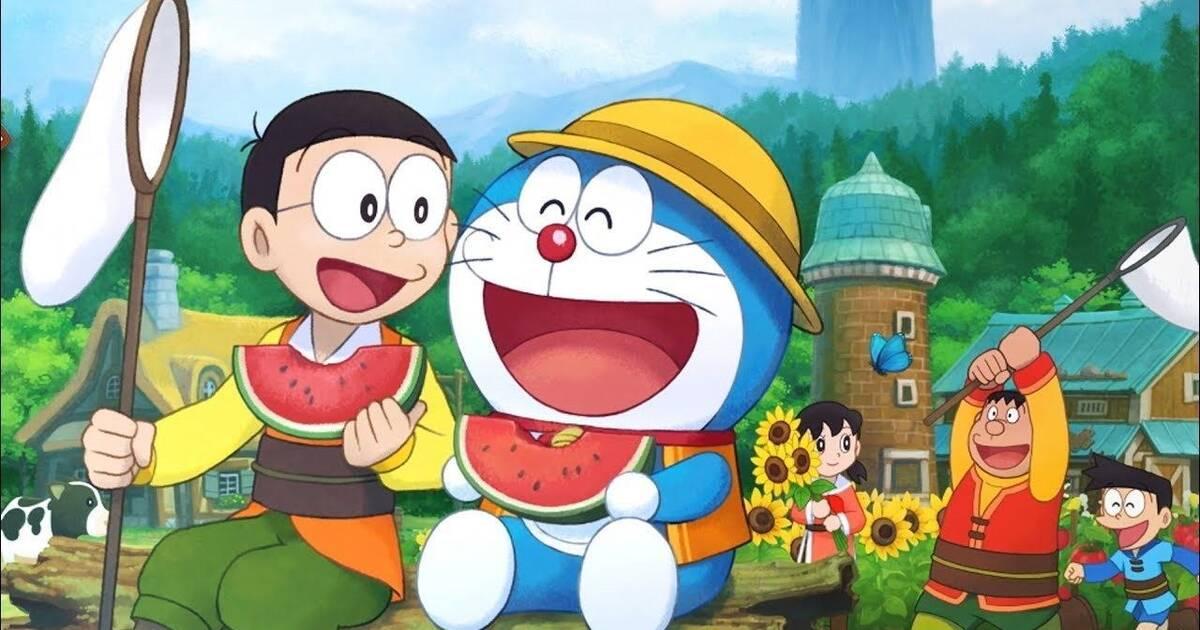 Doraemon Story of Seasons ya está diponible en Switch y PC