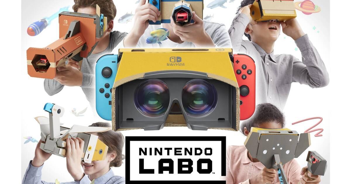 Nintendo detalla el uso y posibilidades de Labo: kit de VR