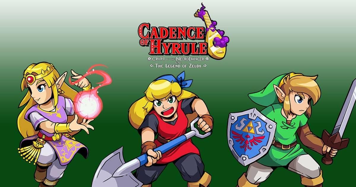Así se juega con Cadence of Hyrule para Nintendo Switch