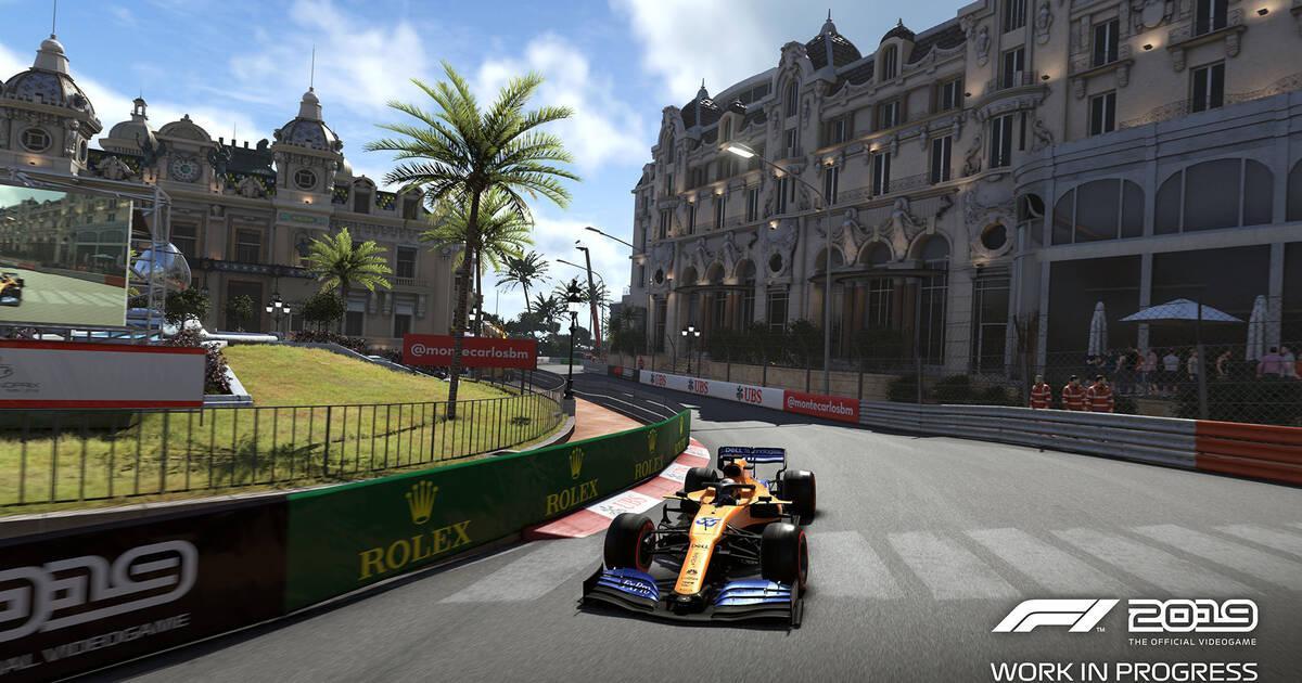 Así ha mejorado Mónaco en F1 2019, el juego oficial del campeonato