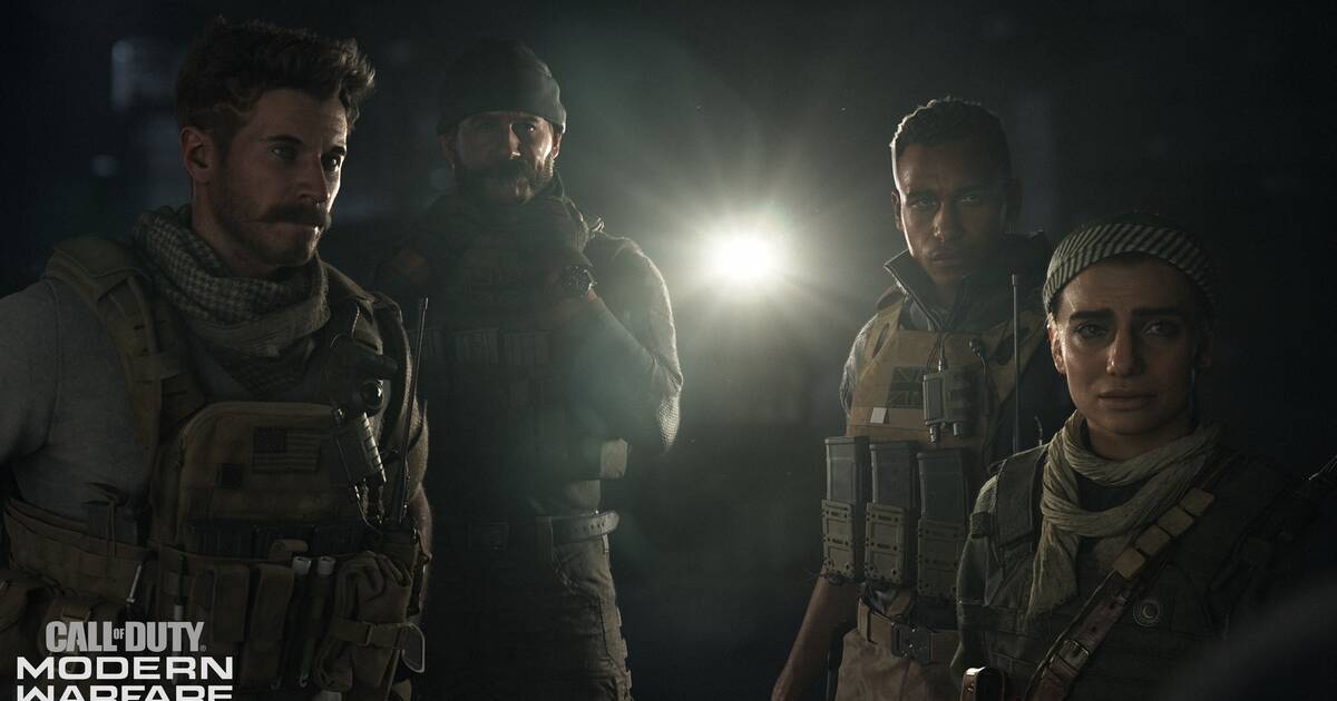 Call Of Duty: Modern Warfare estrena su tráiler de lanzamiento