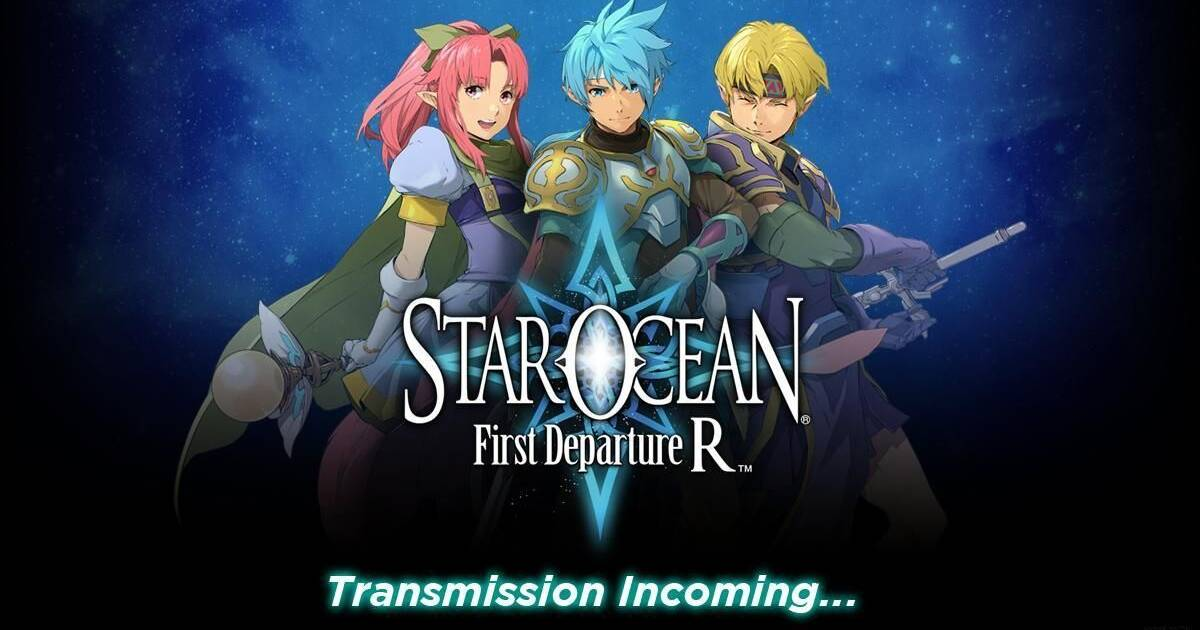 Star Ocean: First Departure R anunciado para PS4 y Nintendo Switch