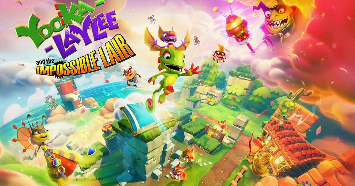 Yooka-Laylee: Sus creadores quieren juegos con ellos al estilo Mario Kart o Splatoon