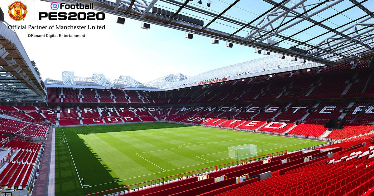 EFootball PES 2020 contará con la licencia del Manchester United