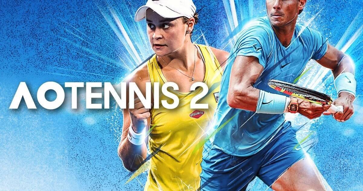 Rafa Nadal protagoniza el tráiler del nuevo AO Tennis 2