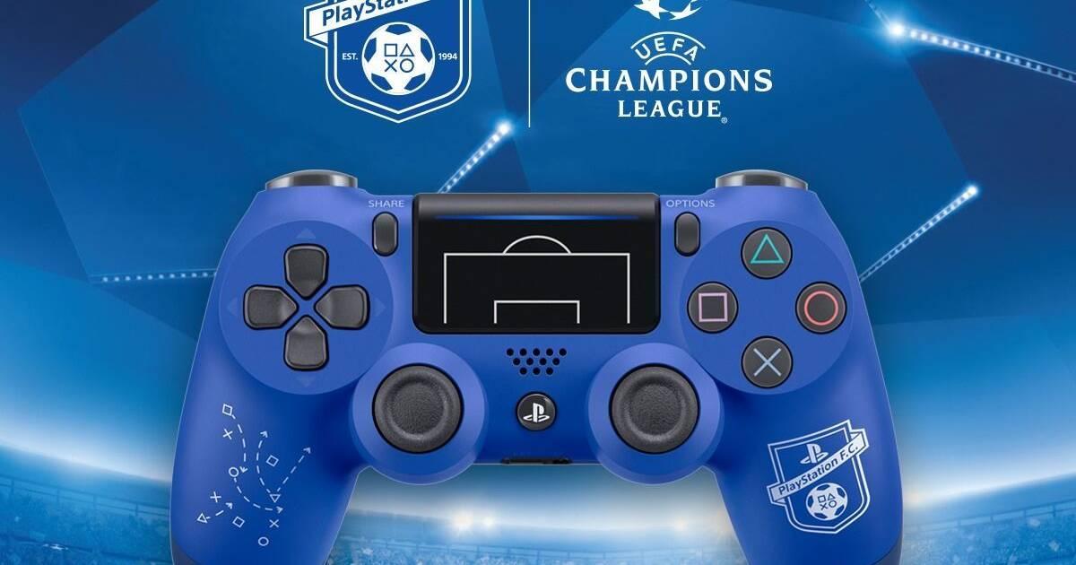 Europa tendrá un mando PlayStation FC para la consola PlayStation 4