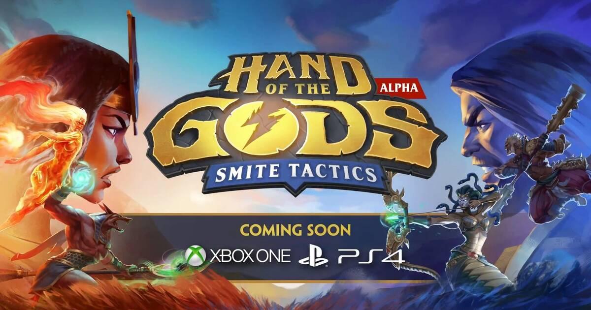 Hand of the Gods: Smite Tactics llegará a consolas