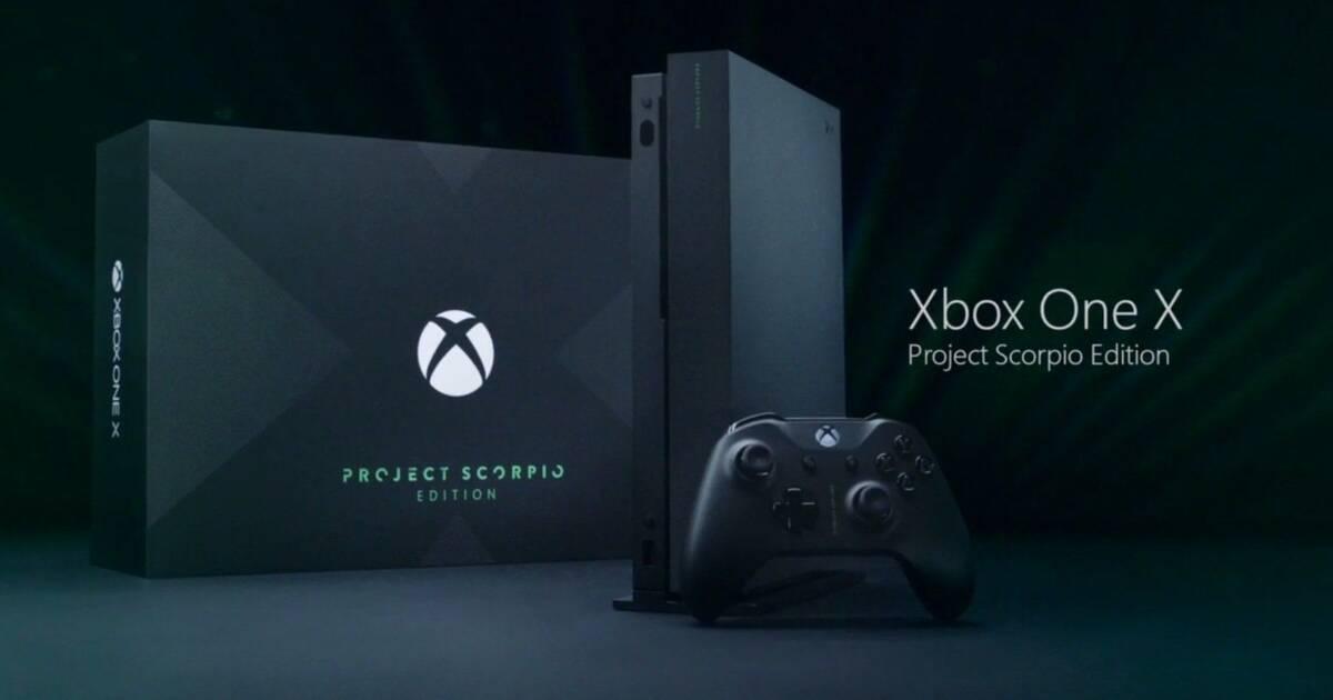 Ya se puede reservar Xbox One X - Vandal