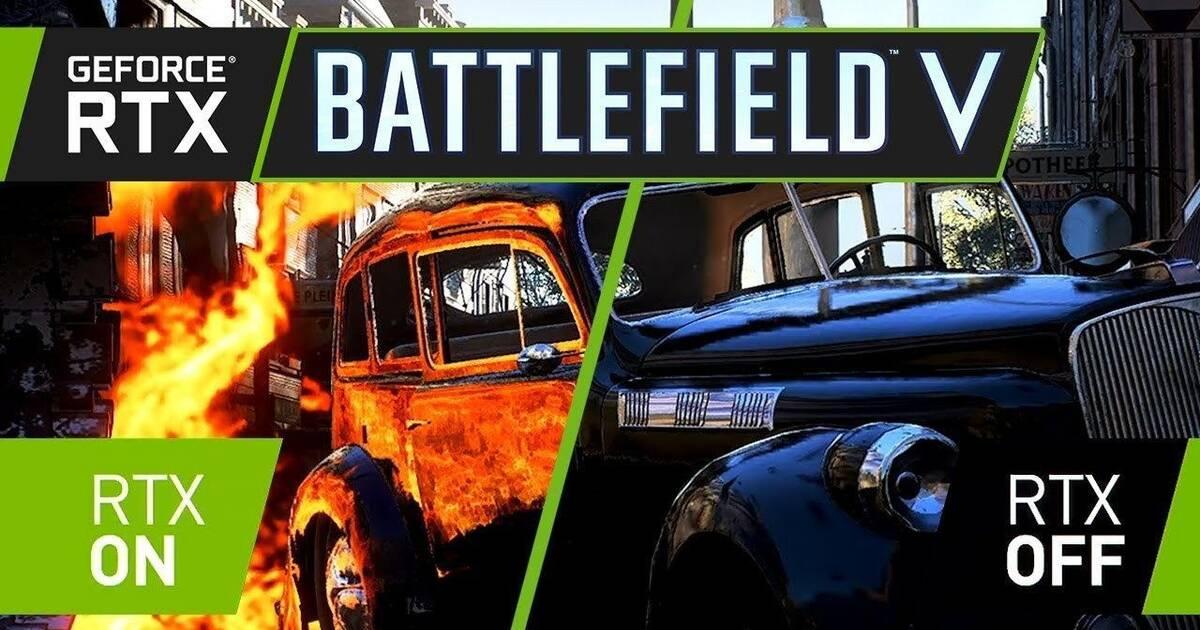 Nvidia muestra una demo de Battlefield 5 con la tecnología