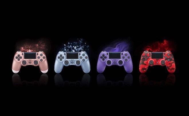 Sony anuncia cuatro nuevos colores para el Dualshock 4
