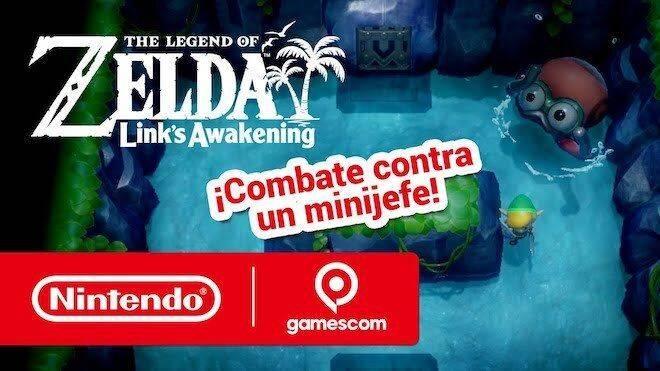 The Legend of Zelda: Link's Awakening ofrece más de media hora de gameplay en la gamescom