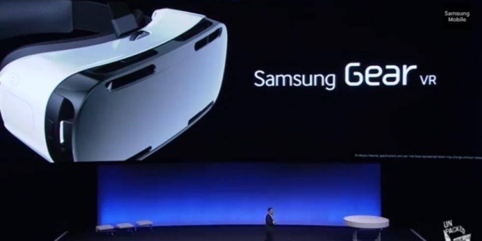 Samsung Gear VR llega a España el 20 de febrero