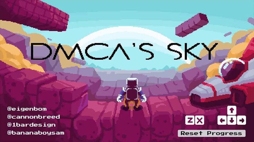 Nintendo pide la retirada del juego fan No Mario's Sky y sus autores responden con DMCA's Sky