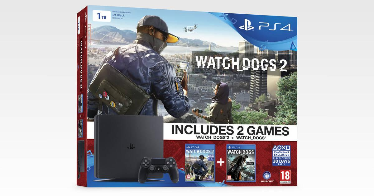 PS4 anuncia nuevos packs con Watch Dogs 2 y Call of Duty: Infinite Warfare como protagonistas