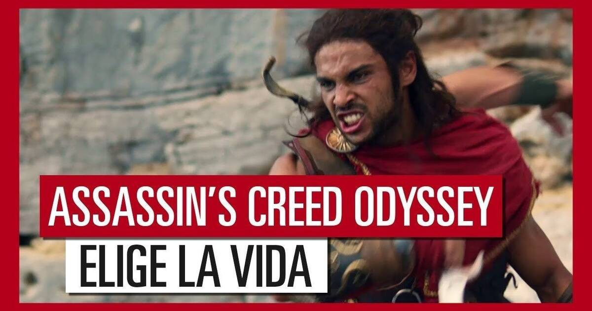 Llega un nuevo tráiler 'live action' de 'Assassin´s Creed Odyssey'