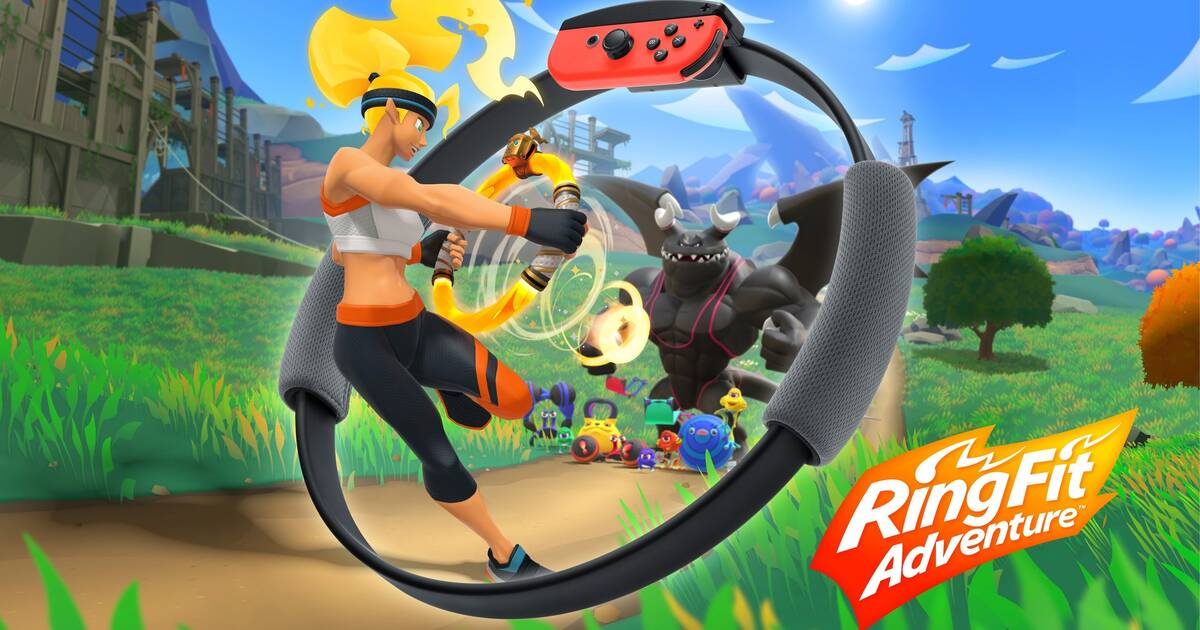 Nintendo presentó oficialmente Ring Fit Adventure