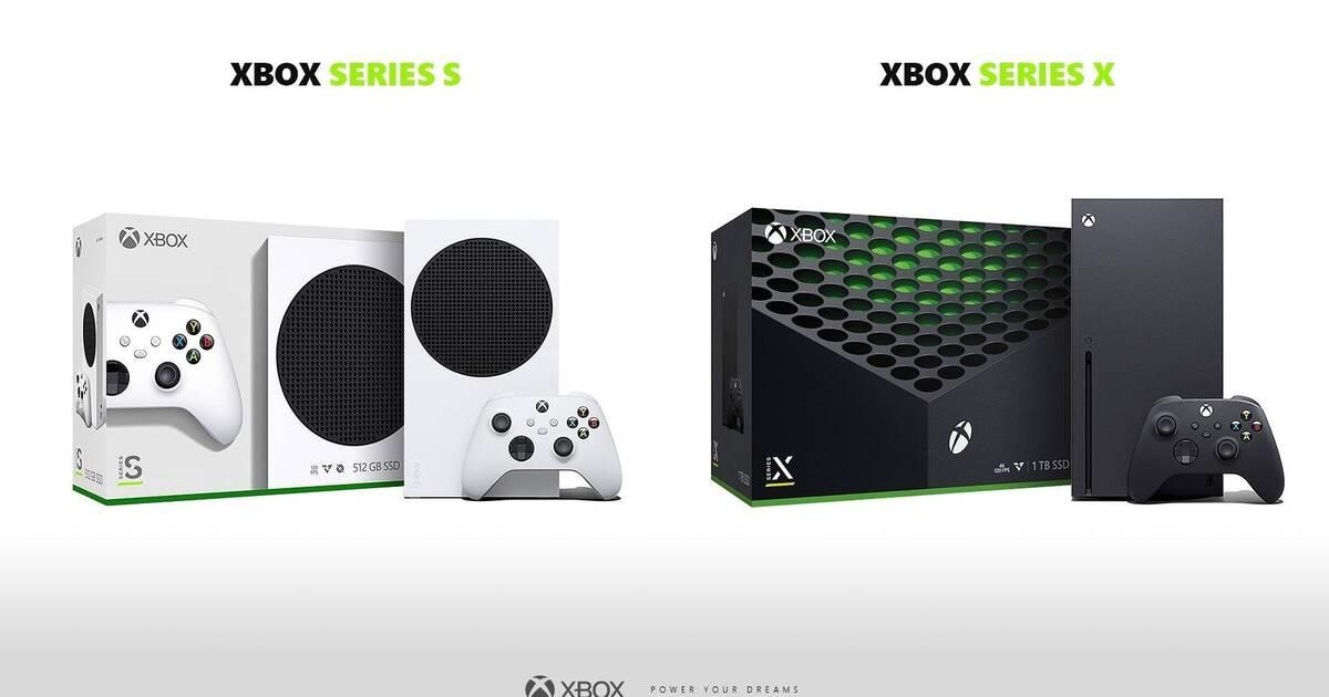 Asi Son Las Cajas De Xbox Series X Y Series S Vandal