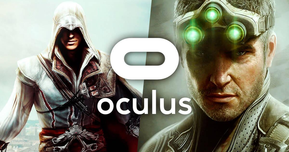 Ubisoft anuncia juegos VR de Assassins Creed y Tom Clancy's  Splinter Cell en alianza con Oculus