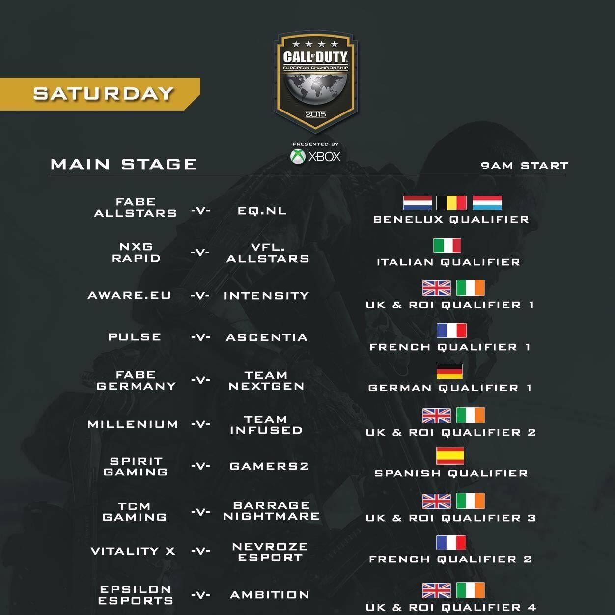 Sigue aquí en directo el Campeonato Europeo de Call of Duty