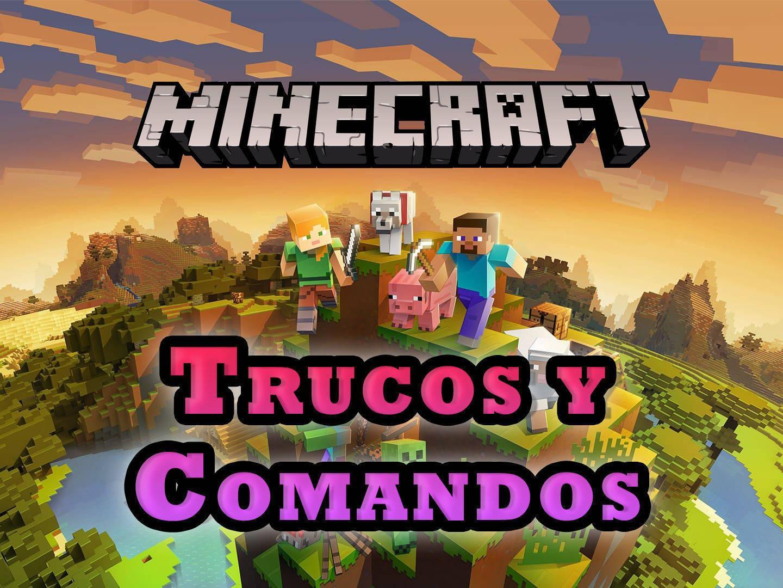 Todos Los Trucos Y Comandos De Minecraft Oro Materiales Objetos 2021