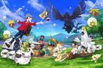 Pokémon y Switch mantienen cómodamente el liderato de las ventas semanales en Japón