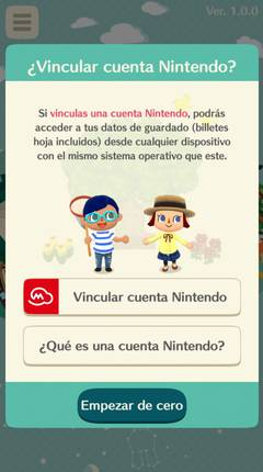 Primeros pasos Animal Crossing Pocket Camp