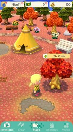 Cómo se recoge fruta Animal Crossing Pocket Camp